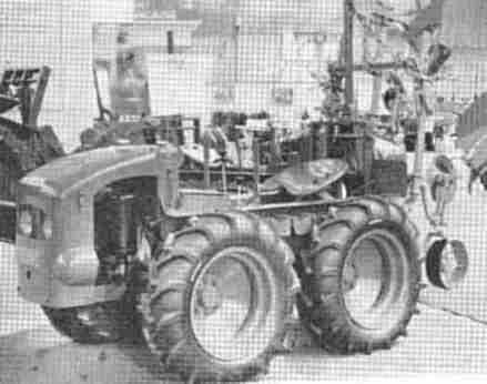 Les anciens mototracteurs for Salon de la machine agricole